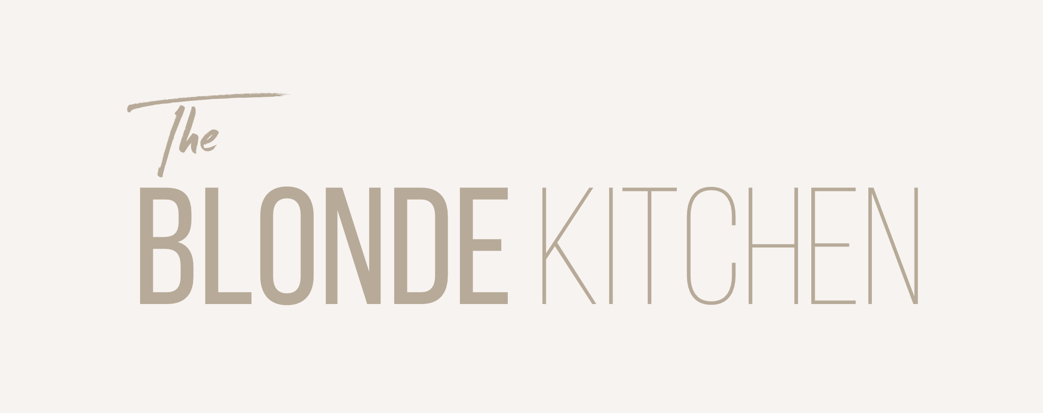 The Blonde Kitchen